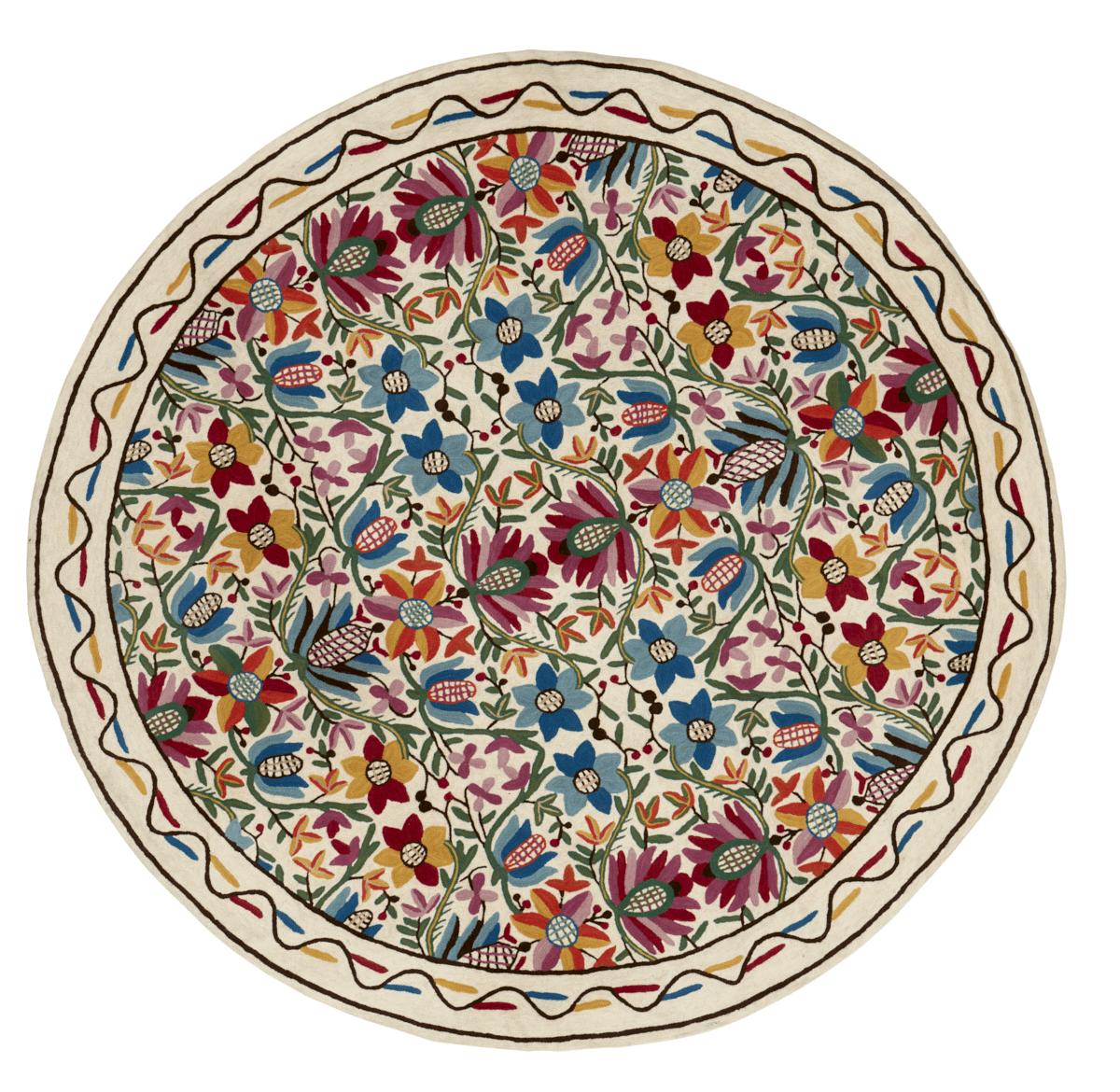 שטיח רקמת צמר