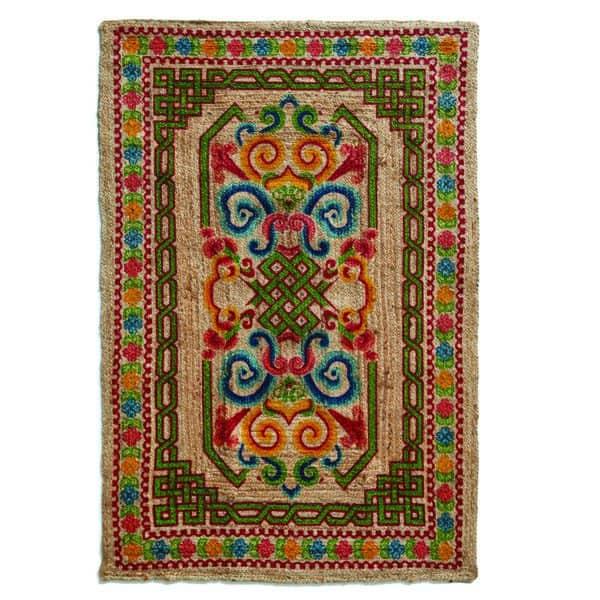 שטיח יוטה מודפס