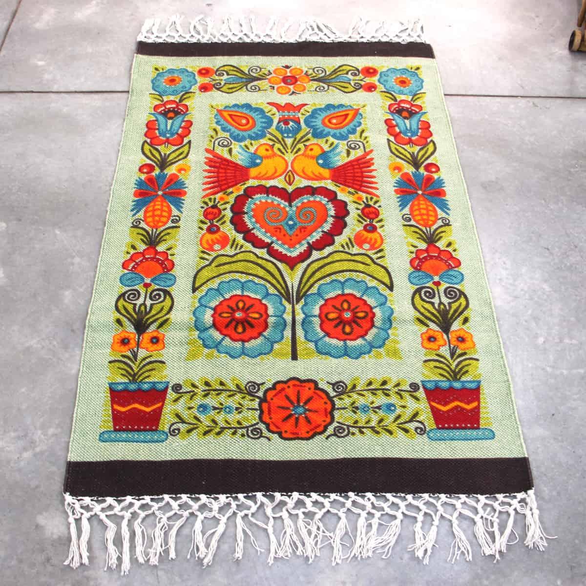 שטיח כותנה מודפס